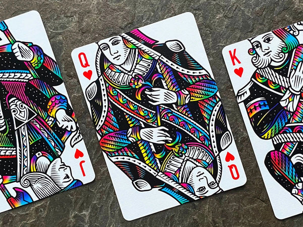 Unicorn Rainbow Playing Cards Cardistry deck by Vanda
