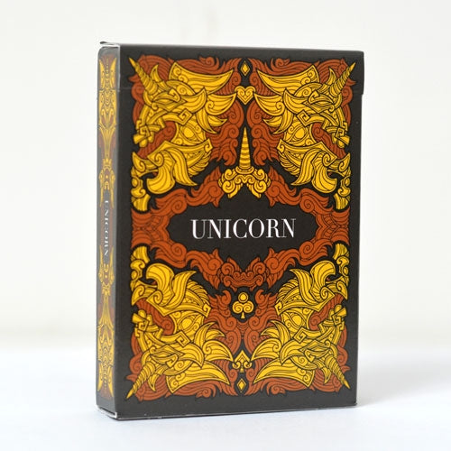 Unicorn Copper Playing Cards Poker Size Deck USPCC Custom Limited Edition Sealed
