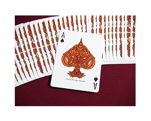 Unicorn Playing Cards Copper Edition deck by Aloys Design Studio