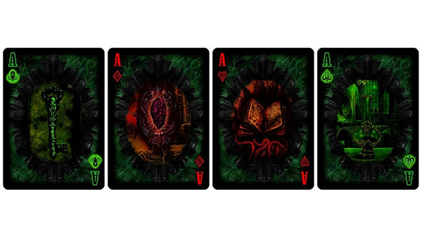 Unnameable Horrors Playing Cards Limited Edition Fantasy Deck
