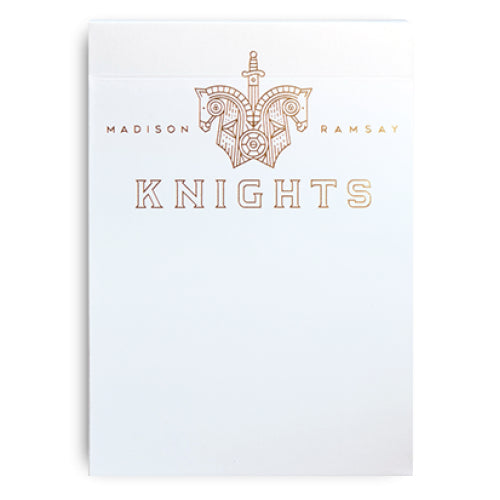 Knights Playing Cards Madison x Ramsay 2nd Edition (V2) by Ellusionist
