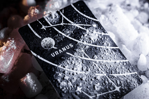 The Planets Uranus Playing Cards Limited Edition Very Rare by Vanda
