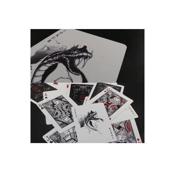 Buyworthy:Venom Playing Cards Deck Bicycle Snake Custom Brand New & Sealed Made in USA