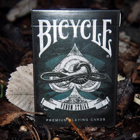 Venom Strike Playing Cards Deck Bicycle Snake Brand New & Sealed Made in USA