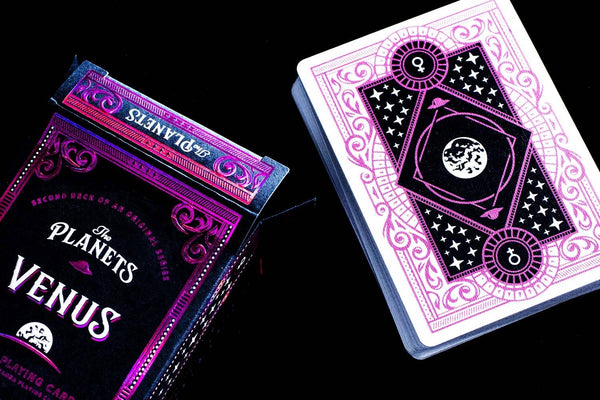 The Planets Venus Playing Cards Vanda Artist Series Holographic Foil
