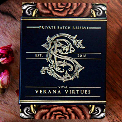Verana Virtues Playing Cards Seasons Apothecary v2 Rare Black Label