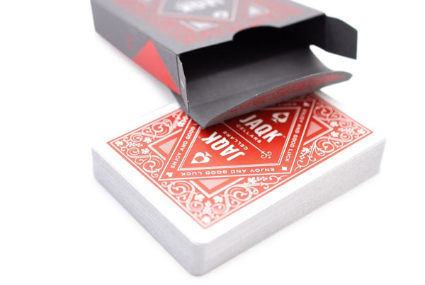 Red JAQK Playing Cards Rare 2nd Edition Collectable Wine Deck