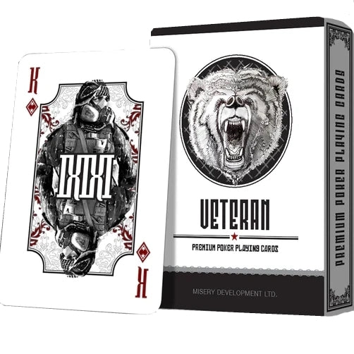 Veteran Playing Cards Limited Edition Black Market Rare Deck
