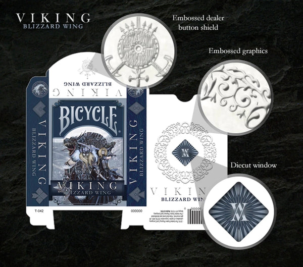 Viking Blizzard Wing Playing Cards deck Cards for Conquerors