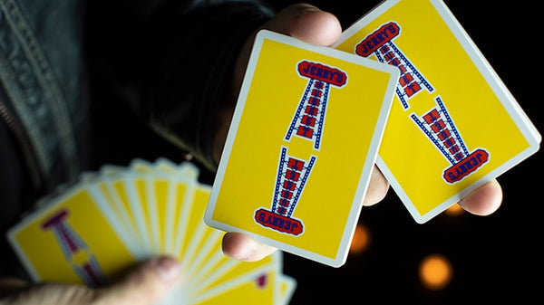 Vintage Feel Jerry's Nuggets Playing Cards Yellow Edition