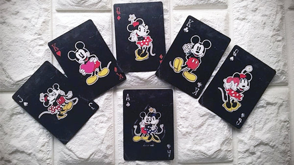 Vintage Mickey Mouse Playing Cards Official Disney Deck