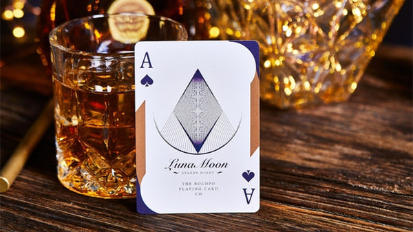 Violet Luna Moon Playing Cards Purple Deluxe Limited Edition