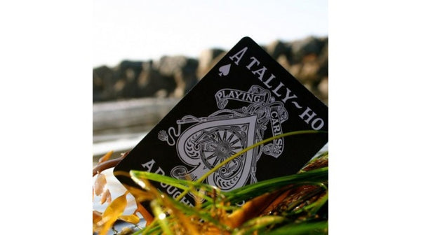Viper Tally-Ho Playing Cards Silver & Black Rare UV500 Finish