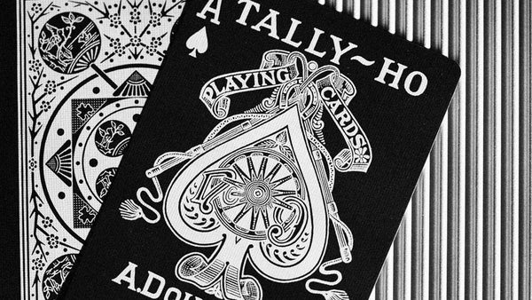 Viper Tally-Ho Playing Cards Fan Back by Ellusionist Performance Coating