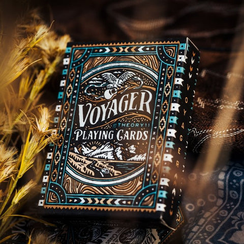 Voyager Playing Cards New Release by Theory 11 Open Road Journey