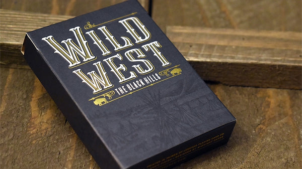 Wild West Playing Cards The Black Hills & Deadwood Editions 2-Decks