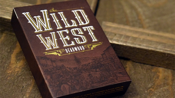 Wild West Playing Cards Deadwood Edition by Midnight Cards Classic Finish