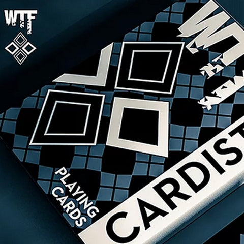 WTF Cardistry Playing Cards Black Edition Deck by De'vo