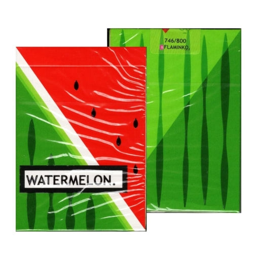 Watermelon Playing Cards designed in Australia by Flaminko