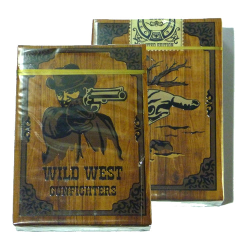 Wild West Playing Cards Gunfighters Edition Deck