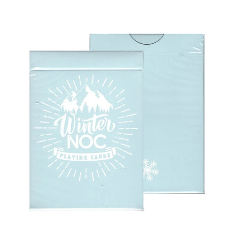 Winter NOC Playing Cards Mountain Glacier Ice Deck Marking system