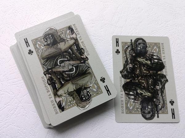 Wolves of Chernobyl Playing Cards by Misery Dev themed from S.T.A.L.K.E.R.