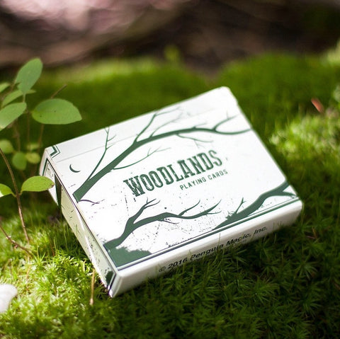 Buyworthy:Woodlands Playing Cards Premium Outdoors Deck Hiking Camping Brand New & Sealed