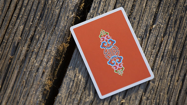 World Tour Mongolia Playing Cards deck by Vanishing Inc.