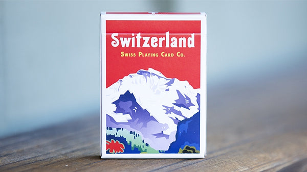 World Tour Switzerland Playing Cards Swiss deck by Vanishing Inc.