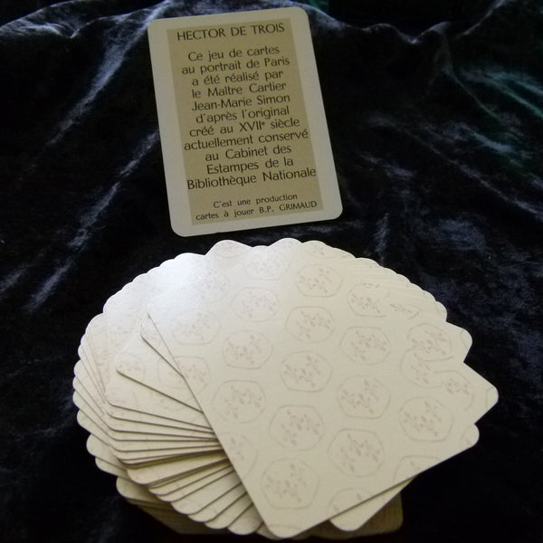 XVII 17th Century Vintage French Reproduction Playing Cards Sealed