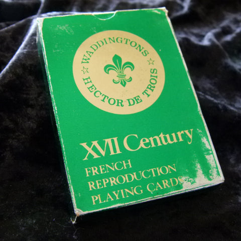 XVII 17th Century Vintage French Reproduction Playing Cards