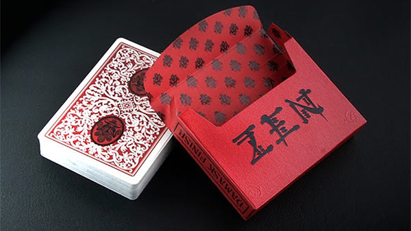 Zen Royal Red Playing Cards by the EPCC Master Finish Rare