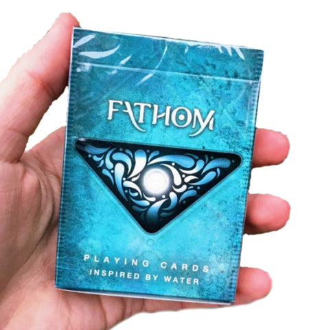Fathom Playing Cards Water Deck by Ellusionist Premium