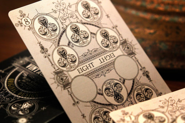 Vintage Label Playing Cards Private Reserve White by Craig Maidment