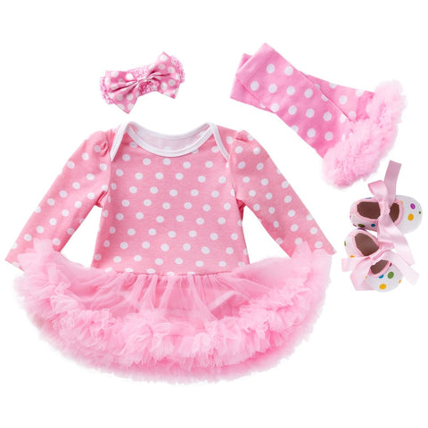 It's All About The Tutu 4 Piece Set - Jelly Belly Babies LLC.
