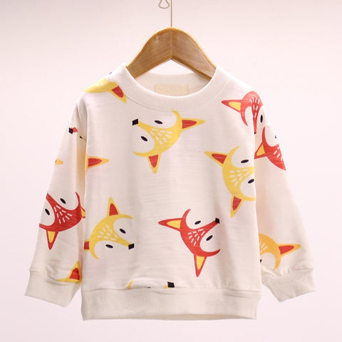 Baby Fox Sweatshirt - Jelly Belly Babies LLC.