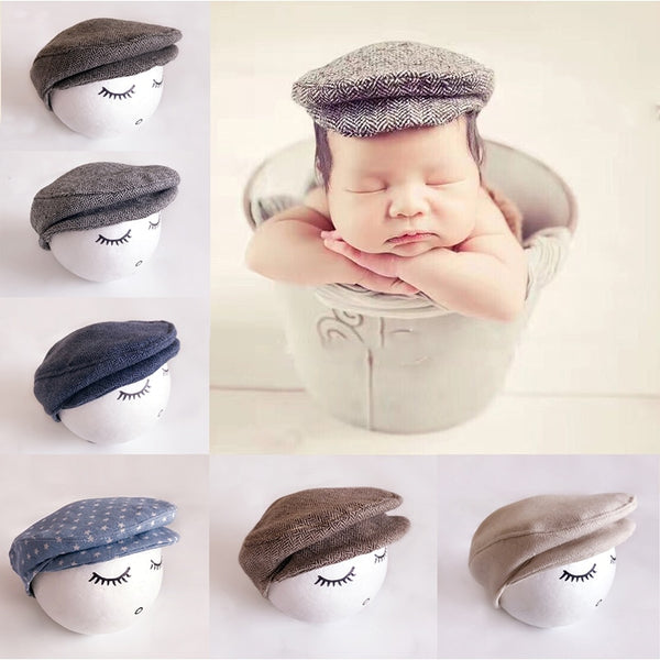 Newborn Derby Hat - Jelly Belly Babies LLC.