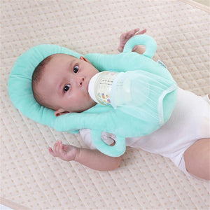 Washable Nursing Pillow with Bottle Pocket