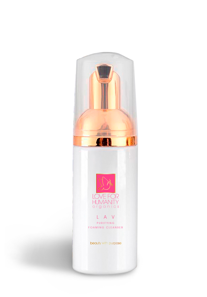 LAV - Purifying Foaming Cleanser - 3.4 oz - Love For Humanity Organics