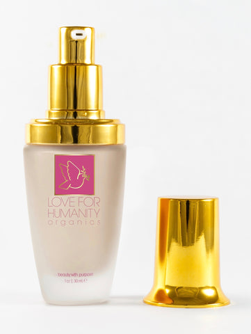 FLAWLESS FOUNDATION- Bisque - Love For Humanity Organics