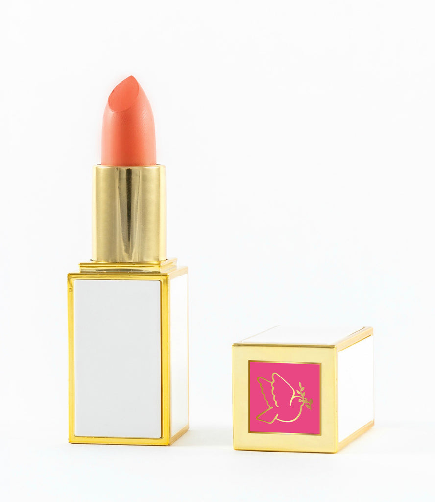 LUSCIOUS LIPSTICK - Coral Kisses - Love For Humanity Organics