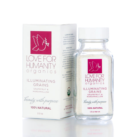 ILLUMINATING GRAINS Grapefruit | Marshmallow 2.3 oz - Love For Humanity Organics