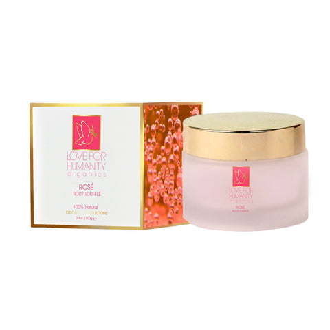 ROSÉ BODY SOUFFLÉ - Love For Humanity Organics