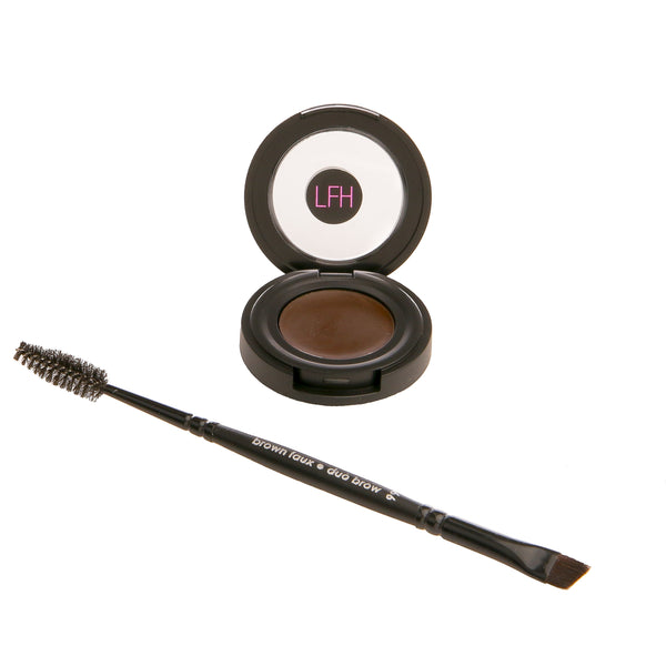BROW PERFECTING POMADE - Dark - Love For Humanity Organics