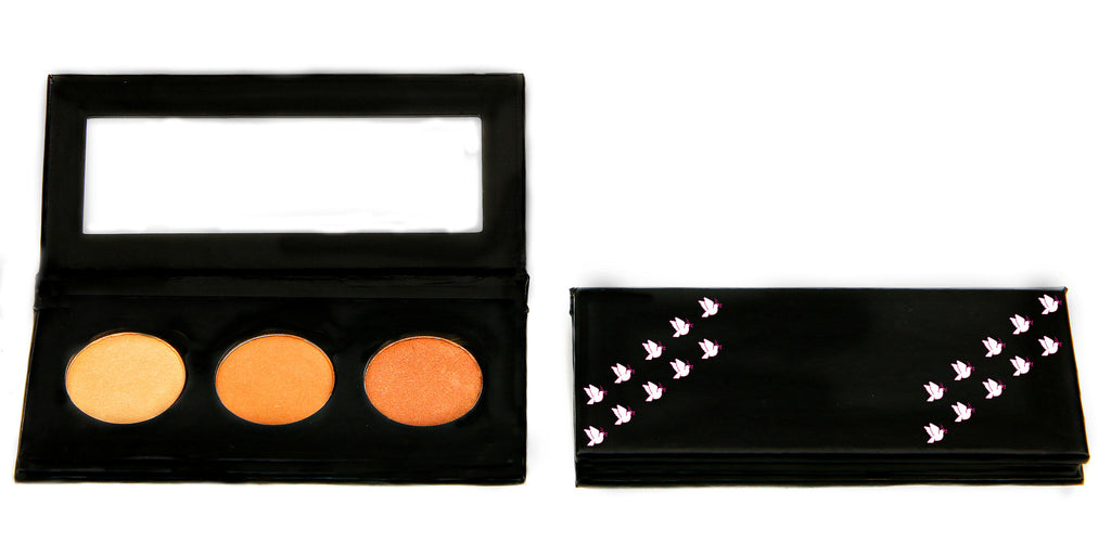 NATURAL VIBRANCE EYE SHADOW KIT - Golden Goddess - Love For Humanity Organics