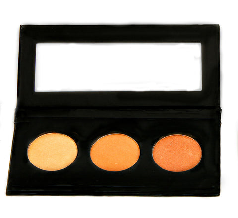 NATURAL VIBRANCE EYE SHADOW KIT - Golden Goddess