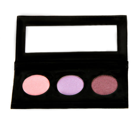 NATURAL VIBRANCE EYE SHADOW KIT - Lavender Gems - Love For Humanity Organics