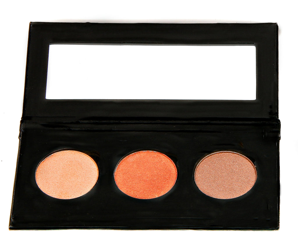 NATURAL VIBRANCE EYE SHADOW KIT - Bronzed Beauty - Love For Humanity Organics