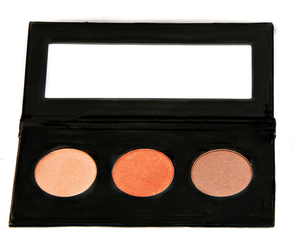 NATURAL VIBRANCE EYE SHADOW KIT - Bronzed Beauty