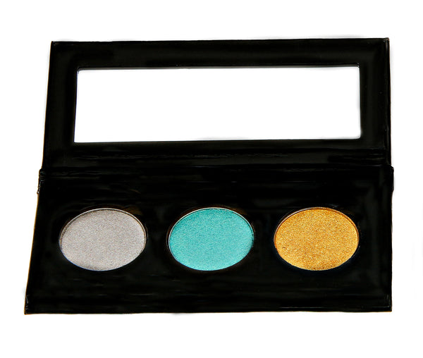 NATURAL VIBRANCE EYE SHADOW KIT - Tropical Jewels - Love For Humanity Organics